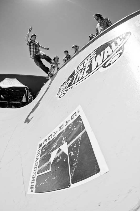 B + W  Vans of the Wall  photo by: Mike Reiersen
