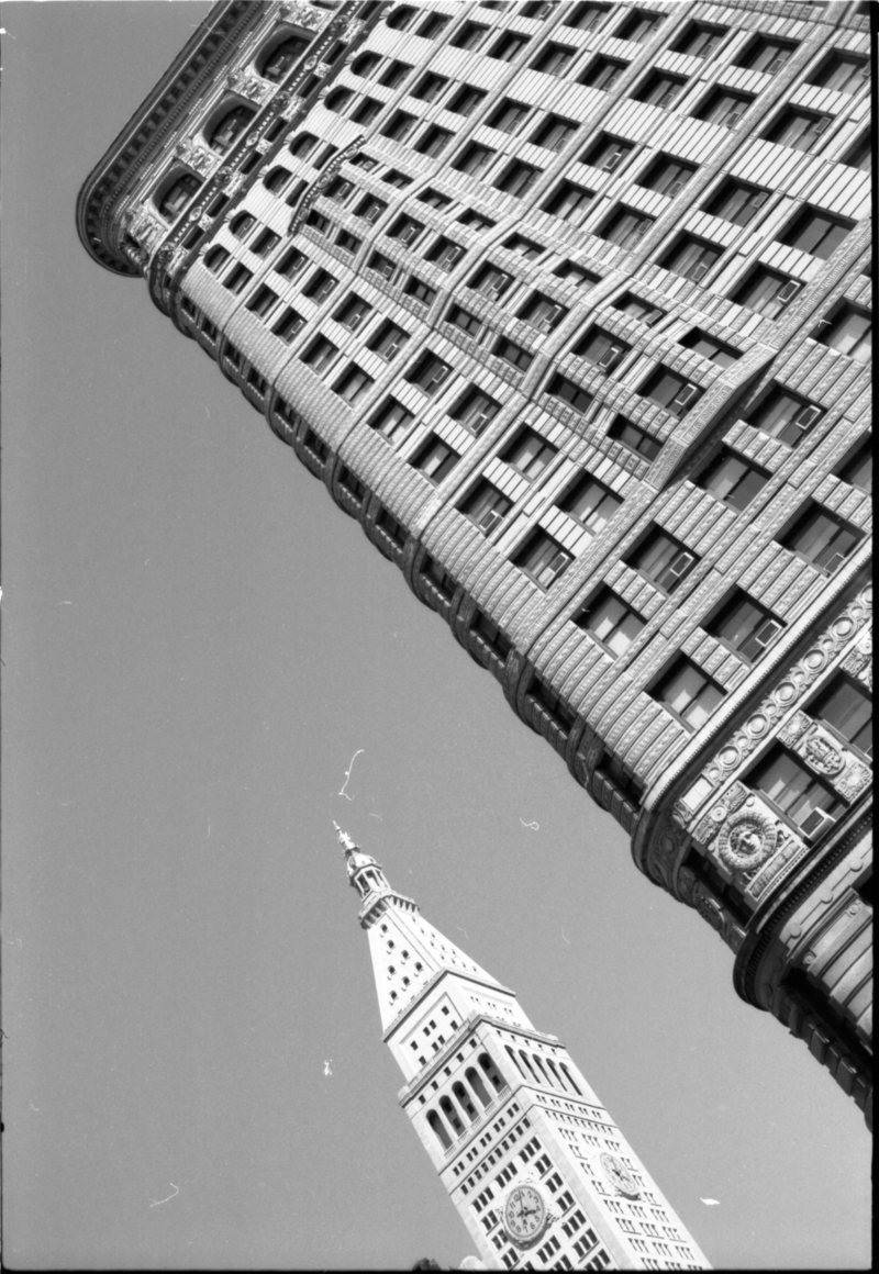 Flatiron B+W - Photo By Mike Reiersen