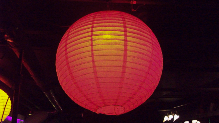 Red China Ball - Photo By: Mike Reiersen